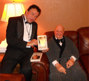 "Don Rickles gave Paul a signed copy of his book. The inscription, ""Piano Lessons?"""